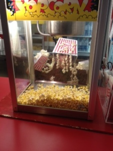 """Item #34- IMAGE. Well done! You've just managed to catch a rare """"Popcorn Child Monster"""" on camera."""