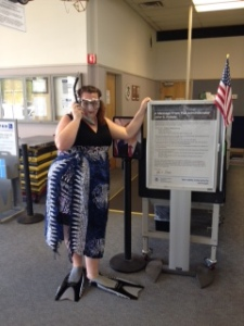 Item #41- VIDEO or IMAGE. Go through a TSA (or your country's equivalent) checkpoint dressed for snorkeling. Explain to the TSA what you're doing, prior to doing it. If they don't allow it, don't do it